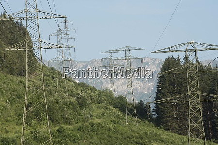 energy supply with a 380 kv