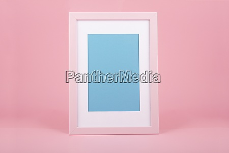 pink wooden picture frame