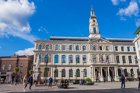 city hall of riga