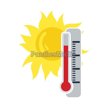 summer heat icon