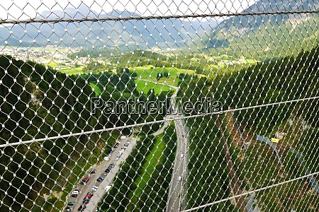 suspension bridge highline 179 in reutte