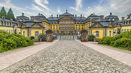 entrace from arolsen residential palace