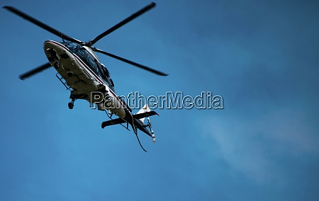 a nice shot of helicopter in