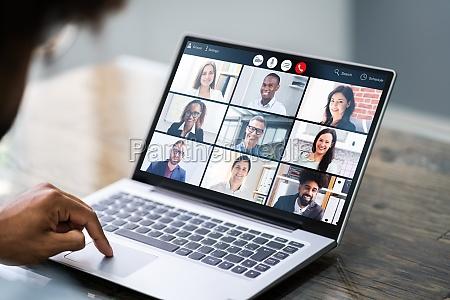 online video conference webinar