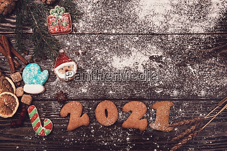 new year 2021 concept
