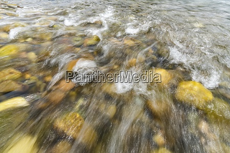 blurred big wood river water and