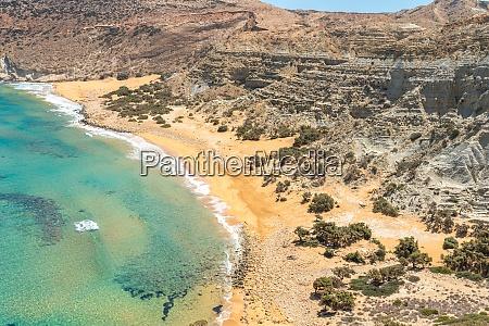 the potamos beach at the northwest