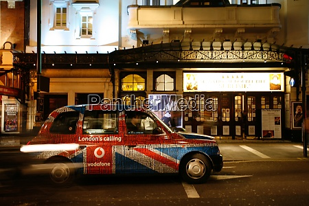 hackney carriage london taxi