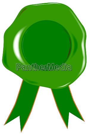 green blank seal