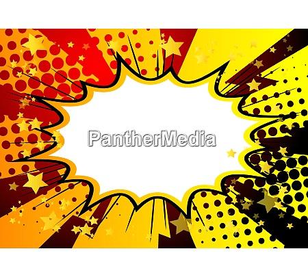 pop art comic half tone background