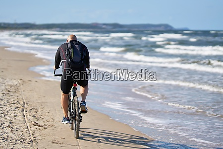 cyclists on the