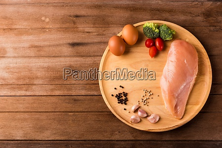 raw chicken breasts fillet no boneless