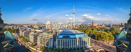 central berlin seen from the berlin