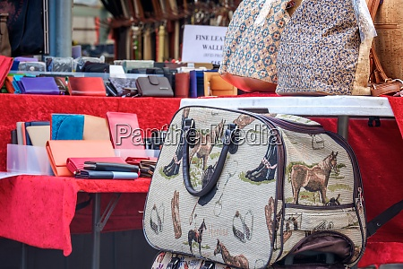 market stall in york offering various