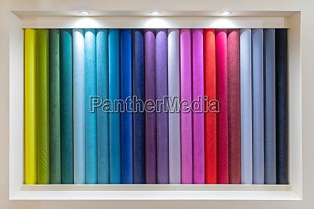 colour material rolls
