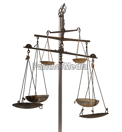 historic balance scales