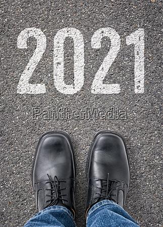 text on the floor 2021