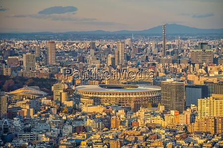 the new national stadium olympic stadium
