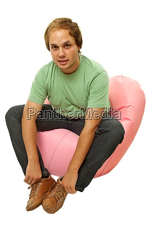 man seated
