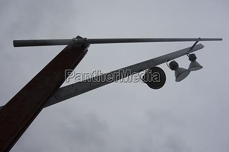 street light in the city