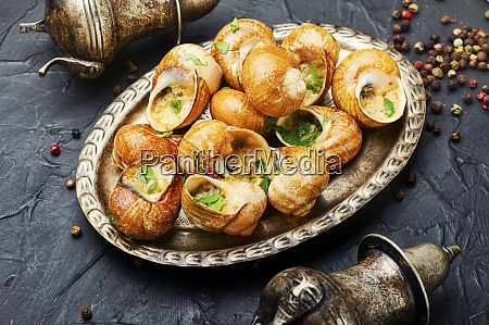 delicacy stuffed snails