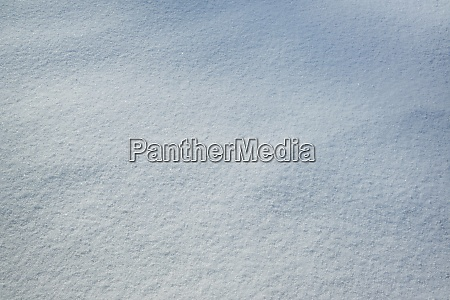 fresh snow with morning sunlight as