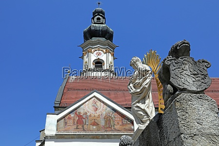 thales brunnen and heilig grabkirche st