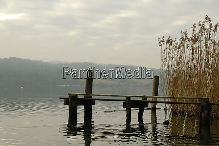 lake zuerich in switzerland