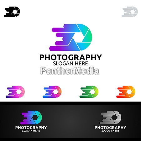 speed camera photography logo