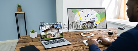 searching real estate apartment or home