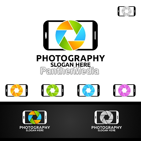 mobile camera photography logo