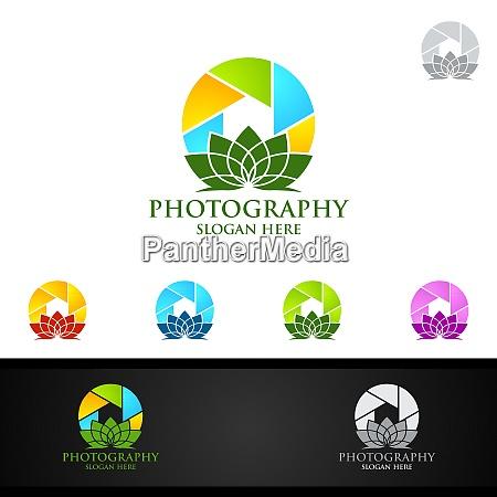 lotus camera photography logo