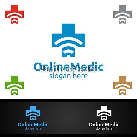 cross medical hospital logo for emergency
