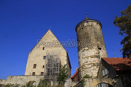 view of the city of besigheim
