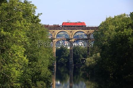 enz valley viaduct near bietigheim is
