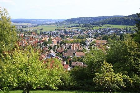 view of the city of muenklingen