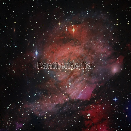 starry deep outer space elements of