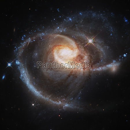 spiral galaxy elements of this image