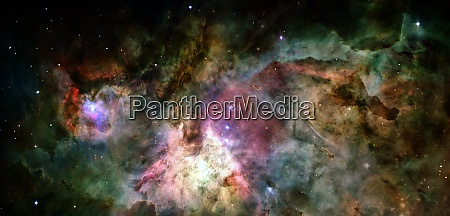 outer space elements of this image
