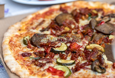homemade pizza a wonderful mix of