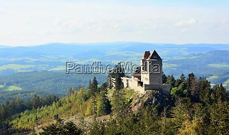 landscape with kasperk castle