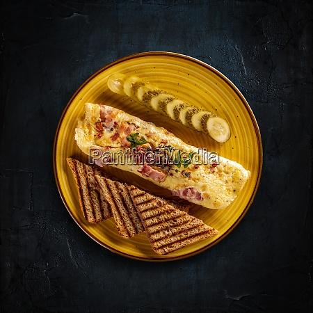 delicious egg omelette