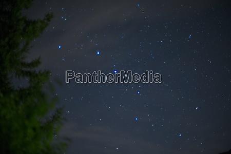 big dipper constellation grosser wagen