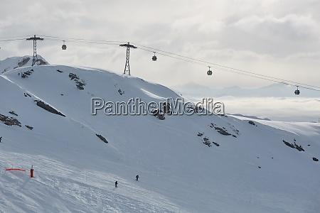 ski resort winter landscape