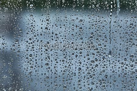 rainy window surface