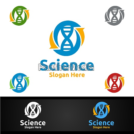 science and research lab logo for