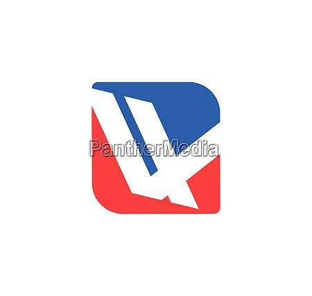 v letter icon design vector