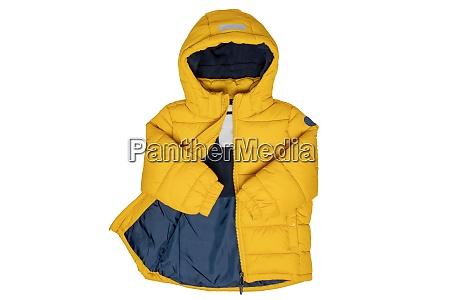 winter jackets for children stylish yellow