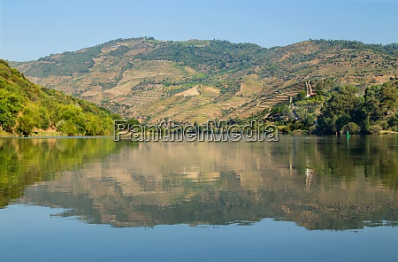 scenic view of the douro valley