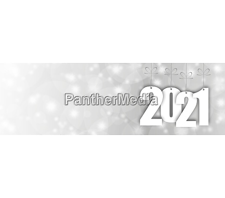 hang tags with year 2021